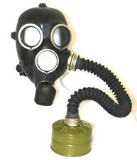 WW2 Russian USSR military Gas Mask GP-7 with filter and black hose NEW ORIGINAL
