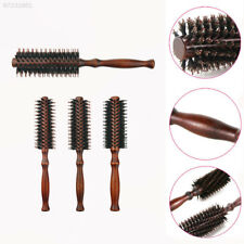 1AE7 Curly Hair Round Roller Comb Electrostatic Resistance Hair Styling Comb