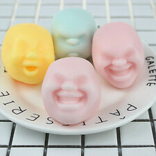 New Funny Vent Human Face Ball Anti-Stress Ball Design Decompression Toy