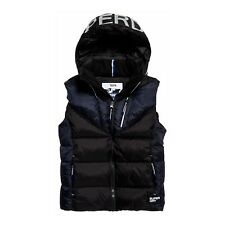 Chaqueta Sin Mangas Superdry Albion Chaleco Negro