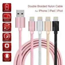 Para Apple Iphone 6s Plus - Doble Nailon Trenzado Cable de Luz Cargar & Datos