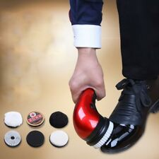 Handheld Automatic Electric Shoe Brush Shine Polisher 2 Way Power Supply EUPlug