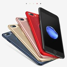 Ultra Slim Phone Case For IPhone 6 6s 7 8 SX Hollow Heat Dissipation Back Cover