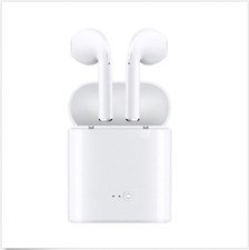 BLUETOOTH EARBUDS HEADPHONES WITH MIC FOR ANDROID AND IOS AIRPODS FREE SHIPPING