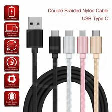 Type C USB Charging Cable For Asus Zenfone 3 ZE552KL   - Braided Nylon Data Sync