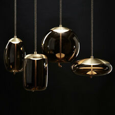 Tom Dixon Glass Pendant Hanging Lamp for Restaurant Cafe Bar Bedroom Living Room