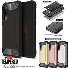 For Huawei P30 Pro 10 Lite P Smart Hybrid Armor TPU Shockproof Bumper Case Cover