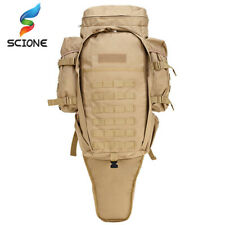 Hot 60L Outdoor Waterproof Military Backpack Pack Rucksack Tactical Bag For
