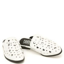 Exclusive Karl Lagerfeld x Falabella Keith Slip On 100% Leather Choupette Stones
