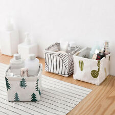 Toy Container Makeup Box Table Closet Nordic Style Storage Bin Fabric Basket
