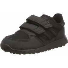 77ebdedb525 adidas Originals Forest Grove CF I Black Synthetic Suede Infant Trainers