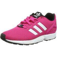 1c59e44d1 adidas Originals ZX Flux K Eqt Pink Textile Youth Trainers