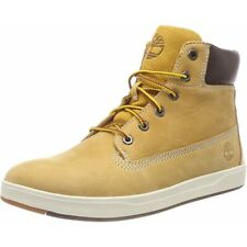 Timberland Davis Square 6 Inch Boot Wheat Nubuck Youth Ankle Boots