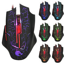USB 2.0 Receiver PC Laptop Computer Wired Optical Scroll 1 Pcs Gaming Mice Mouse