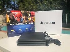 Sony PlayStation 4 Pro Newest Model CUH-7215B Jet Black HDR 4K 1TB Home WB