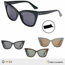 Fashion Women Cat Eye Sunglasses LARGE Vintage Glasses OVERSIZED Eyewear Shades