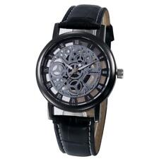 Womens Hollow Analog Quartz Stainless Steel Wrist Watch Watches