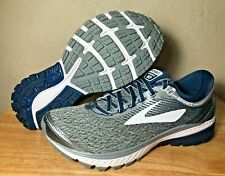Brooks Ghost 10 DNA Mens Running Shoes SZ Silver Blue White New (1102571D013)