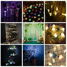 LED Christmas String Lights Colorful Wedding Xmas Party Dec Outdoor Indoor