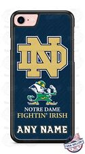 Notre Dame College Football Logo Tread Phone Case Cover For iPhone Samsung Moto
