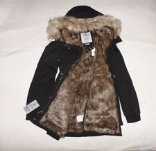 Womens Hollister by Abercrombie & Fitch Water Resistant Fur Jacket Size M, L,