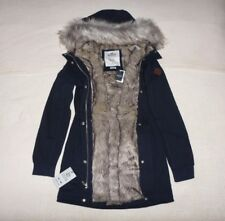 Womens Hollister by Abercrombie & Fitch Water Resistant Fur Jacket Size L, XL,