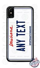 Louisiana State License Plate With Text Phone Case Cover For iPhone Samsung LG