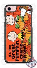 Charlie Brown The Great Pumpkin Halloween Phone Case Cover For iPhone Samsung LG