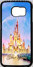Walt Disney Castle Phone Case Cover For iPhone Samsung LG etc with ANY NAME
