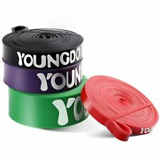 YOUNGDO Pull Up Assist Bands Resistance Band Heavy Duty Workout Body Stretching
