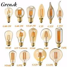 Grensk Retro LED Lamp Dimmable Light Bulb E14 E27 220V Gold  Edison LED Filament