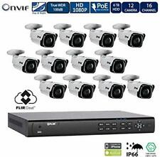 Flir IP Security Camera System with 2HDD Bays NVR and N243BW2P 2MP Bullet Camera