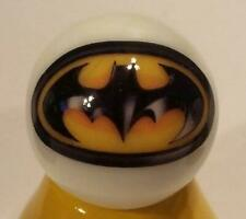 Very Nice Batman Logo Glass Marble