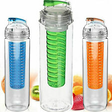Fruit Infusion Water Bottle with Fruit Infuser Aqua Hydration Sports BPA Free