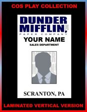 photograph about Dunder Mifflin Name Tag Printable titled Dunder Mifflin Identity Badge The Business Worker Identification Pick out Which Identification