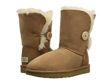 UGG Bailey Button II in Chestnut size 5 -now $129 /was $169.95