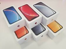 Apple iPhone XR - EMPTY BOX RETAIL UK - White/Black/Blue/Yellow/Coral/Red