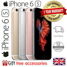 Apple iPhone 6s 16GB 32GB 64GB 128GB Network Unlocked NTID Smartphone IOS UK