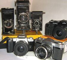 CAMERAS - BARGAINS & restorations @ 127, 620, 35 mm click SELECT to browse/order