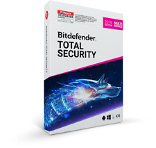 Bitdefender Total Security 2019, Multi Device,1-10 Geräte, 1-3 Jahre Vollversion
