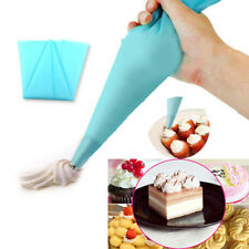 3 Sizes Reusable Icing Piping Cream Pastry Bag DIY Cake Candy Adorn Tool ZH