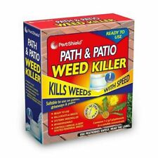 PESTSHIELD PATH & PATIO WEED KILLER SYSTEMIC WEEDKILLER KILLS WEED WITH ROOT PS0