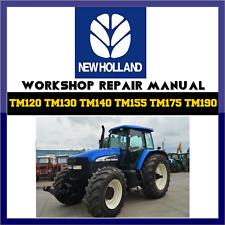 new holland tm series tractor workshop service repair manual on new holland t6030 tractor, new holland t7040 tractor, new holland tc35 tractor, new holland t4020 tractor, new holland tl90a tractor,