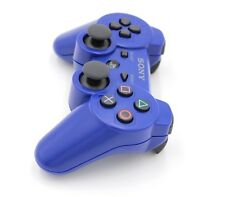 Sony PlayStation 3 PS3 DualShock 3 Wireless SixAxis Controller Blue used  j