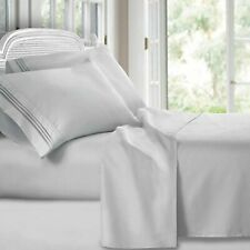 Clara Clark Premier 1800 Collection Deluxe Microfiber 3-Line Bed Sheet Set,...