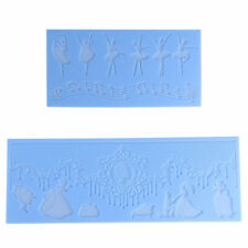 Silicone Embossing Textured Mat Sugarcraft Cake Pastry Mold DIY Baking non-stick