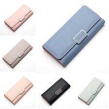 Wallet For Women Fashion Long Section Three-fold Cover Clutch Phone Bag Purse