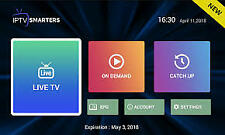 IPTV Smarters Subscription 1 Month Full Access