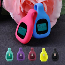 Silicon Rubber Clip Case Holder for Fitbit Zip Activity Tracker Green Collection