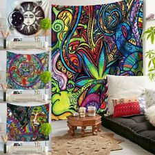 Indian Hippie Psychedelic Mandala Tapestry Art Wall Hanging Bedspread Home   CA